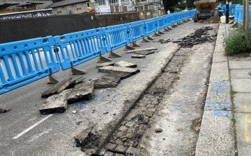 London gives up an ancient secret –its old granite setts. By Harry Mount