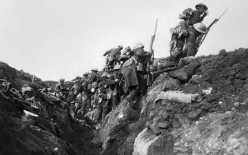 The First World War – up close and personal. By David Hargreaves