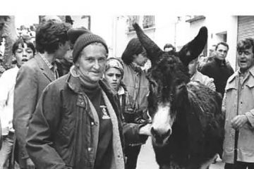 Who was Blackie the donkey? William Cook