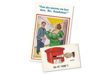 What were postcards? David Abberton