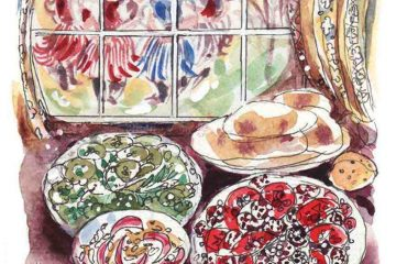 Ukrainian Summer Treats - Elisabeth Luard