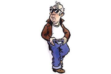 OAPs should not wear jeans - Liz Hodgkinson