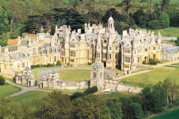 Lucinda Lambton - Overlooked Britain: Harlaxton Manor, Lincolnshire