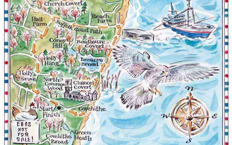 A last walk on Suffolk's crumbling coast - Patrick Barkham