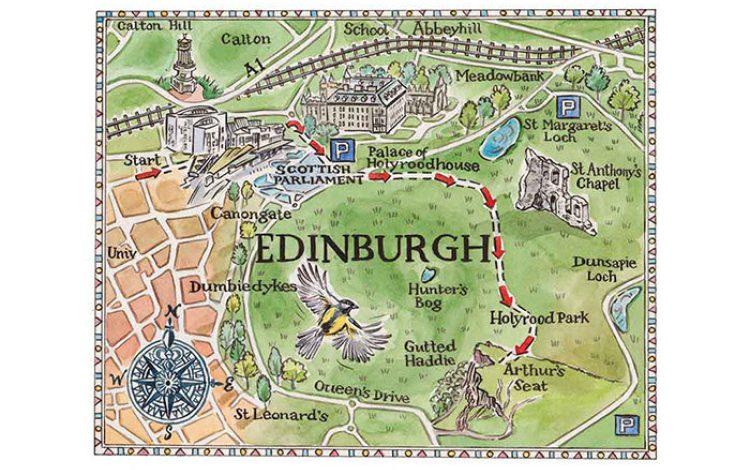 Edinburgh's urban mountain