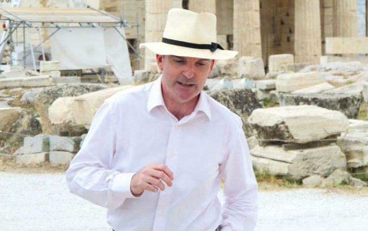 Nigel McGilchrist, the British Odysseus – the ultimate guide to the Greek islands