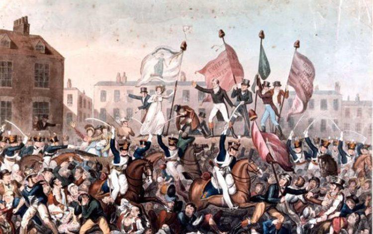 The bloody day Britain met its Peterloo