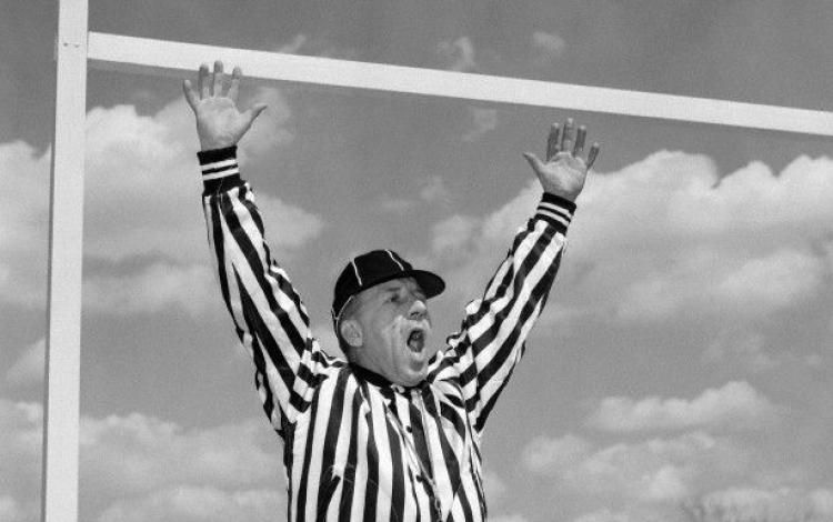 SPORT: Jim White on Referees