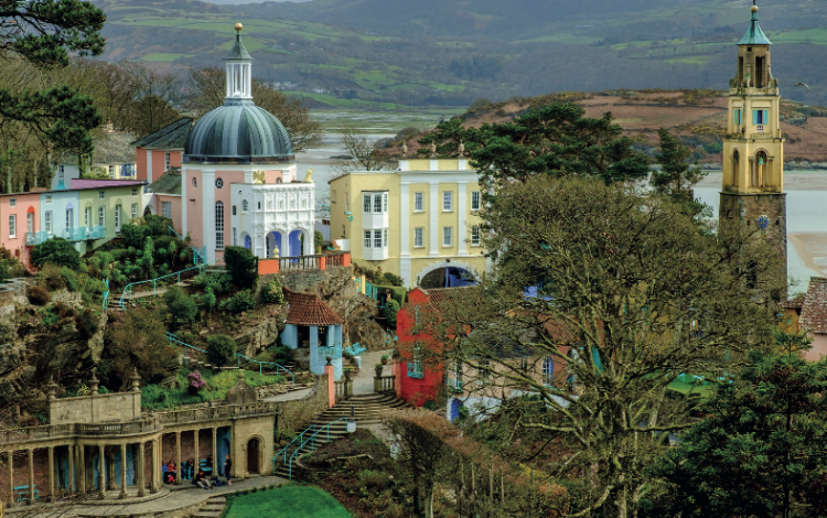 The Prisoner's Welsh holiday home