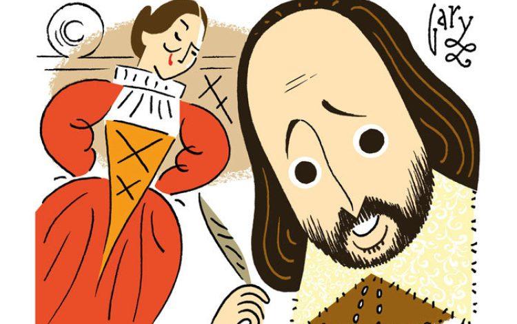 Shakespeare meets Blackadder