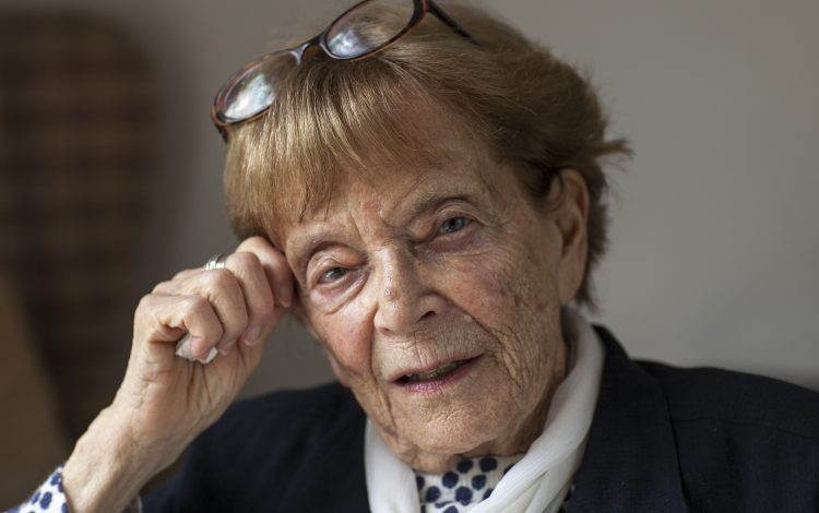 Thank you, NHS, for vaccinating my mother, 96 –who survived the Holocaust