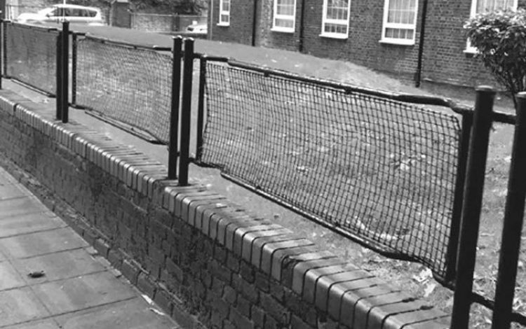 Sighted – stretcher railings